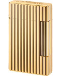 """Dupont """"initial"""" flint lighter striber (gold color)"""