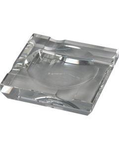 Krystal askebæger firkantet