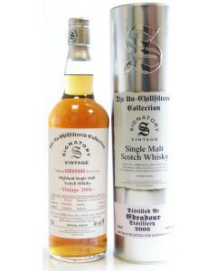Signatory Vintage, Edradour 2006, 10 Y.O. Sherry Butt 70 cl. 46%