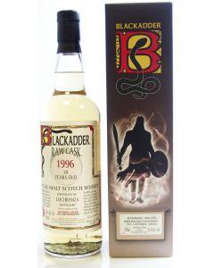 Blackadder Raw Cask, Lochranza Distillery 1996, 18 Y.O. 70 cl. 52,6%