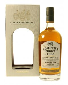 The Cooper's Choice, Highland Park 1995 Sherry Finish, 49,5% 70 cl.