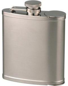 Lommelærke i rustfrit stål, 6oz/180ml fra Hip