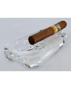 Krystal askebæger til 1 cigar, trapez form